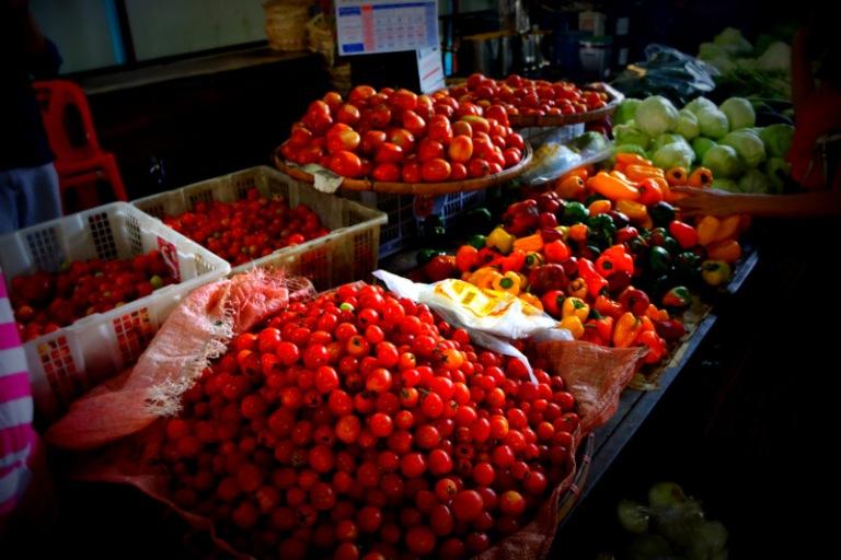Market veggies.