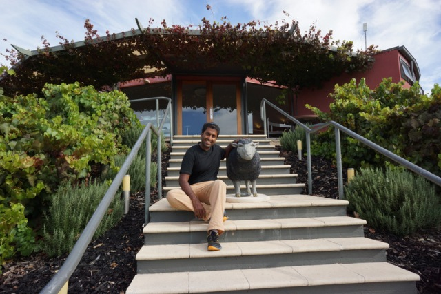 Black sheep winery, we snuck in right as they were closing.
