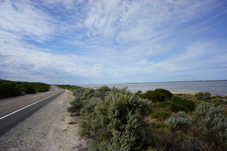 Drive along the Coorong