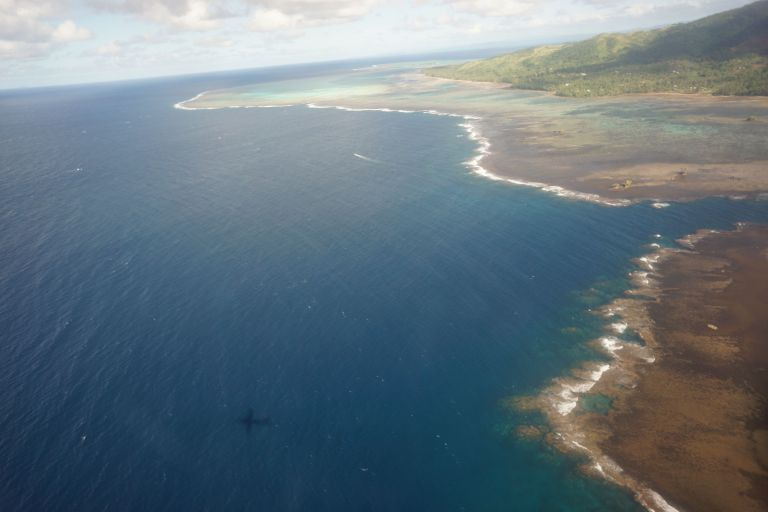 Fiji by air from SavuSavu to Nadi.