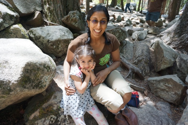 Padma and her daughter Vijaya