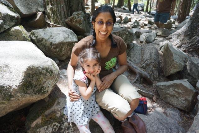 Padma and her daughter Vijaya