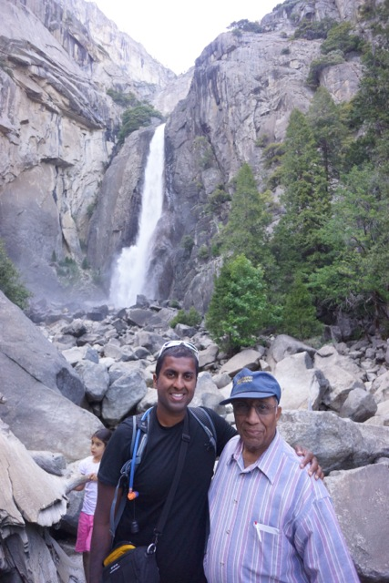 Ravi and his Dad.