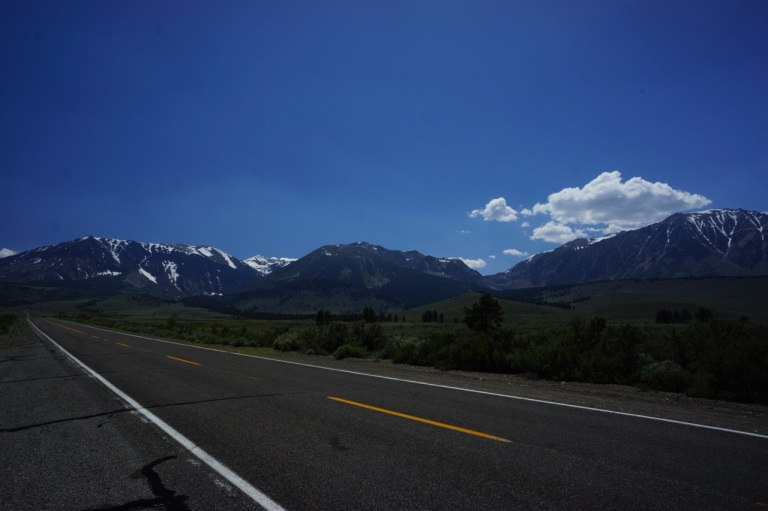 Driving around the Eastern Sierra's is gorgeous.