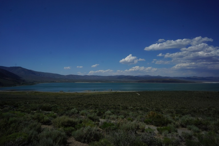 Mono Lake from afar.