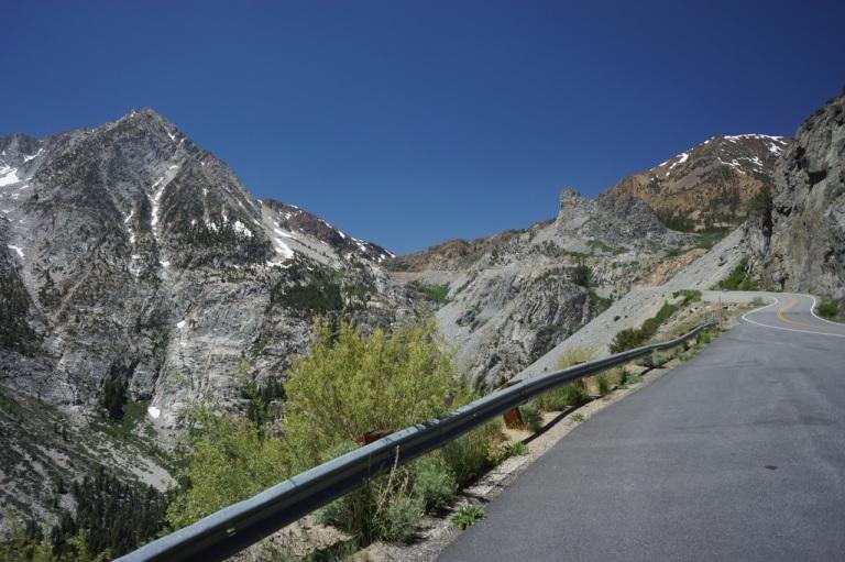 Leaving Yosemite, via eastern entrance