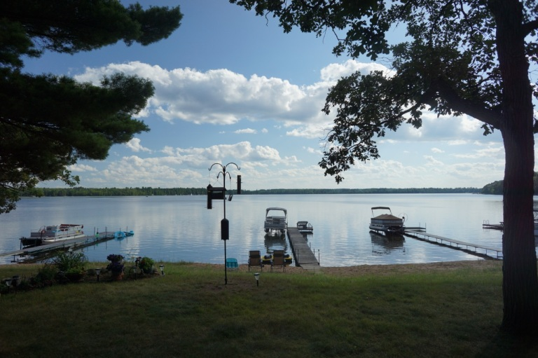 "View from Alison family ""cabin"" in Nisswa, MN."