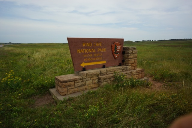 Wind Cave National Park....we didn't know this place existed until we got into South Dakota....it is the 6th largest cave in the world and the most complex cave in the world. It has over 150 miles of caves in a single square mile!