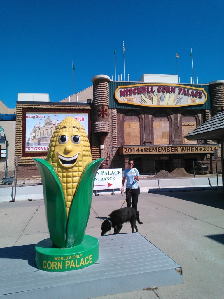 The Corn Palace!