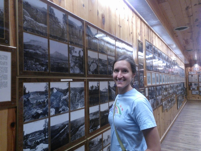 In Wall Drug...these photos tell stories of early settlers and struggles with Native people in the 1800s.