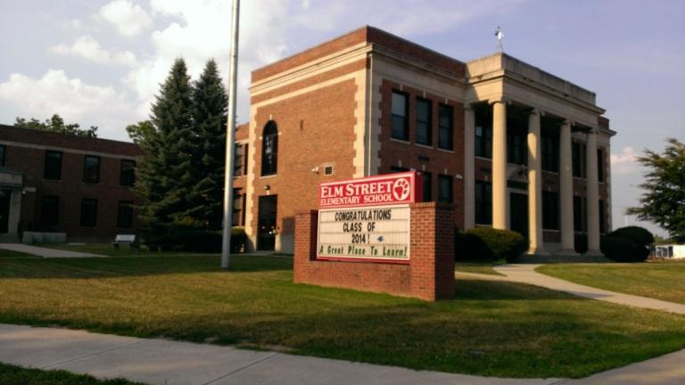 My elementary school, Elm Street Elementary.