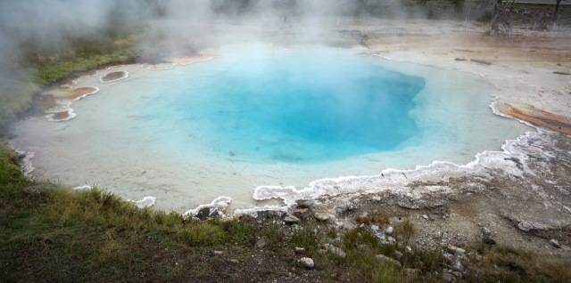 I don't remember the names of all the pools, geysers, etc!  But they sure are pretty.