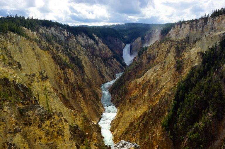 The Grand Canyon of Yellowstone.