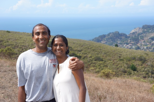 Kumar and Lakshmy, at Marin.
