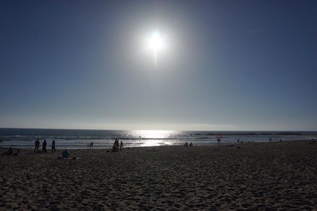 LA coast...