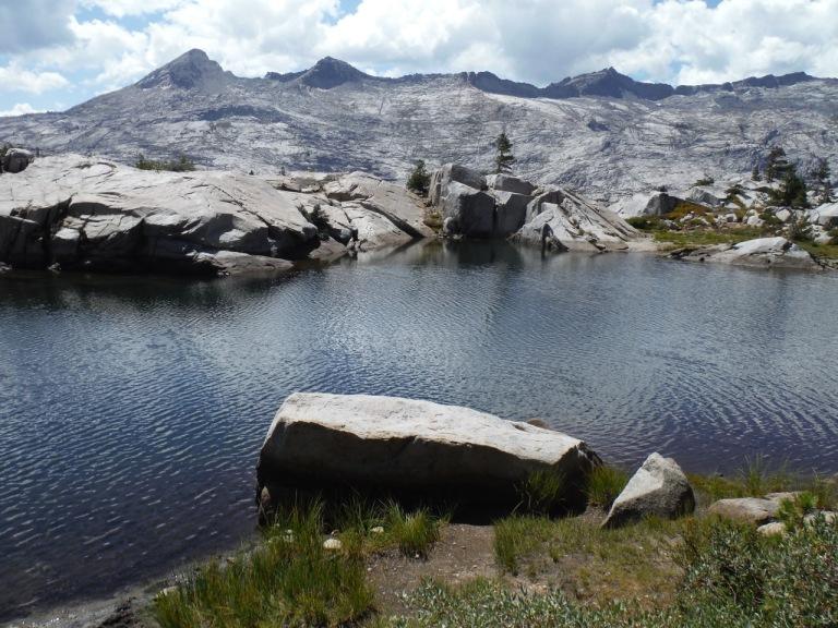 A sampling of the granite peaks we would be seeing further south in the Sierra's.