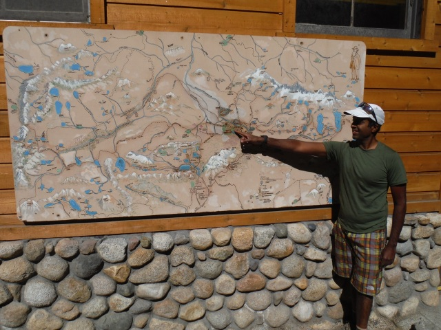Where are we Ravi?  Oh we are right here at Red Meadow Resort, just outside of Mammoth Lakes.