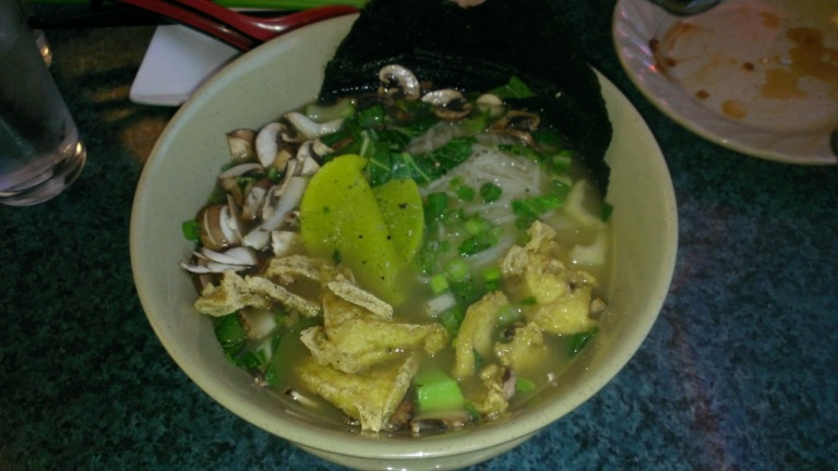 Pho at Yama Noodles. It was so good we ate here twice.